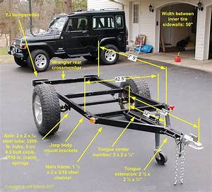 Bolt-together Fiberglass Jeep-tub Trailer Kit