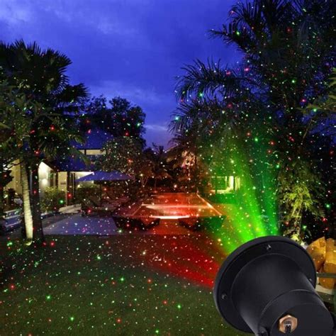 star shower outdoor laser christmas lights star projector star shower laser light projector thousands of red green