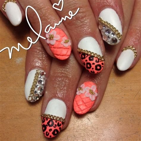 day  quilted nail art nails magazine