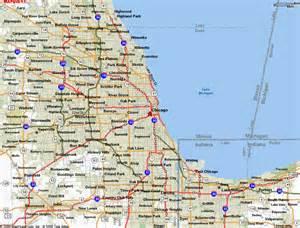 Chicago Illinois City Map