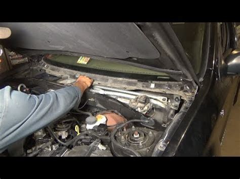 repair windshield wipe control 2009 ford fusion engine control windshield wiper motor replacement 2001 2006 ford escape youtube