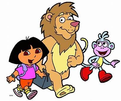 Dora Adventure Clipart Explorer Clip Cliparts Cartoon