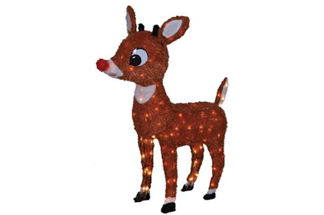 light up reindeer outdoor decoration christmas prep