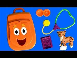 Diego Backpack Surprise Talking Toy Play-Doh Mickey Disney ...