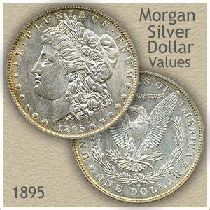 morgan silver dollar  discover  worth
