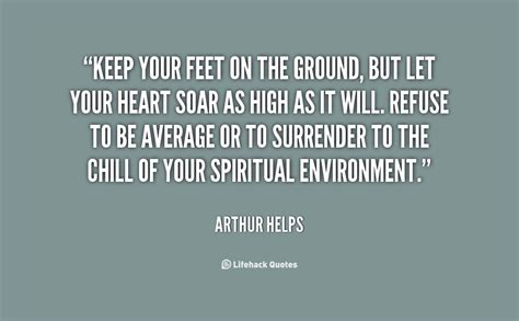 Feet Off The Ground Quotes