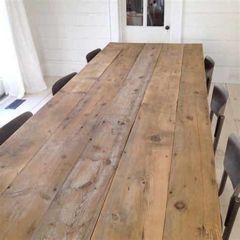 ideas  plank table  pinterest diy table