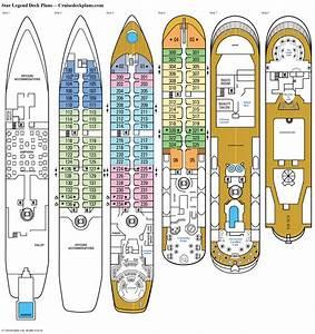 Star Legend Deck 3 Deck Plan Tour