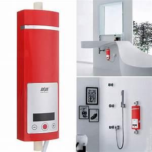 Chauffe Eau Electrique Instantané : 5500w lcd chauffe eau electrique r chauffeur instantan ~ Dailycaller-alerts.com Idées de Décoration