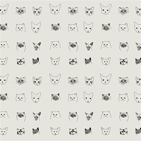 Cat Wallpaper by Baines and Fricker » Pretty Dandy