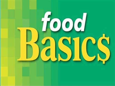 basics of cuisine food basics logo grocery com