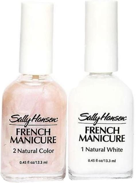 sally hansen french manicure kit sheerly opal price