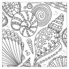 sea colouring  mindfulness