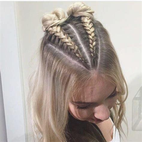 ideas  braids  thin hair  pinterest