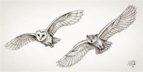 flying barn owl drawing 2 flying owls by snoeffel on deviantart