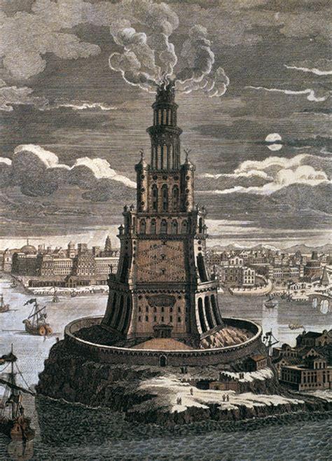 le phare d alexandrie la septi 232 me merveille du monde du c 244 t 233 de chez plk