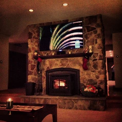 How To Install A Tv Mount On Stone Fireplace Fireplace Ideas