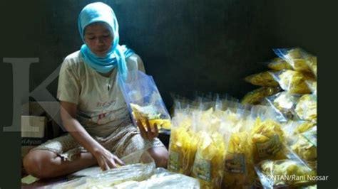 alwin kembangkan bisnis keagenan keripik pisang bangnana