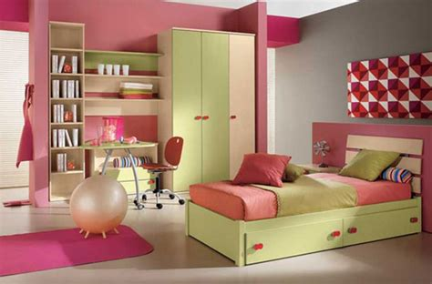 Cute Nice And So Girly Pink Kids Room