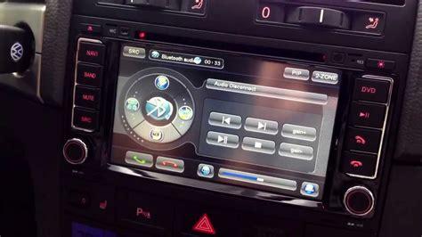 vw touareg dvd gps stereo installation youtube