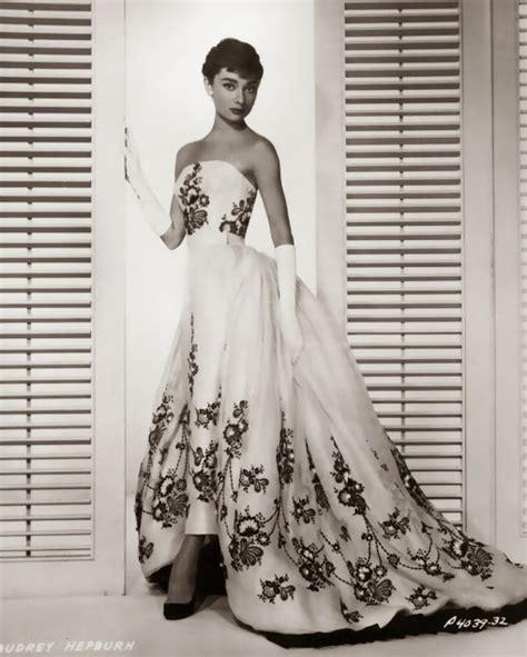 sabrina dress hepburn and givenchy silver screen modes by