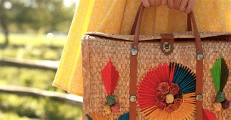 quintessential summer accessory  great straw bag