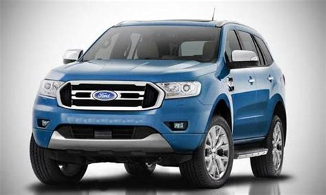 ford endeavour facelift review ford redesignscom