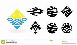 Travel Vector Logo Design Template  Stock Vector