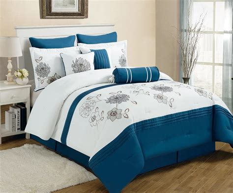 blue bed blue and gray bedding sets spillo caves