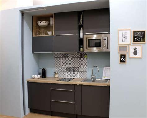 meuble cuisine studio les 25 meilleures idées concernant cuisine compacte sur