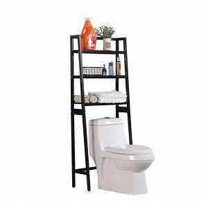 Toilet, Storage, Rack, 3