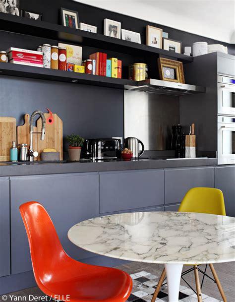 cuisine appartement parisien idee chambre bebe mansardee