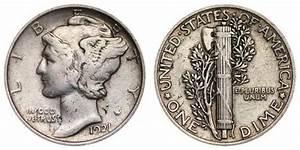1921 Mercury Silver Dime Coin Value Prices Photos Info