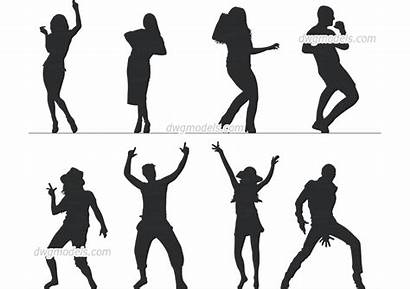 Dancing Dwg Cad Autocad Dwgmodels Drawings Blocks