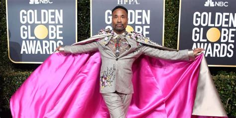 Billy Porter Golden Globes Look Just Changed Life
