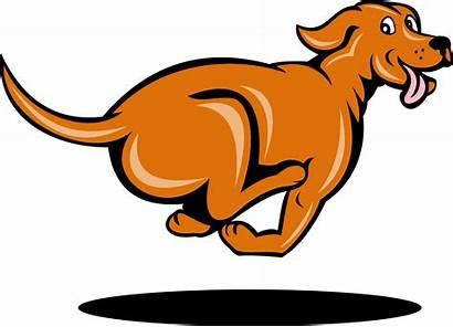 Dog Cartoon Running Clipart Transparent Clip Side
