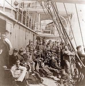 1890 Immigrant Ship