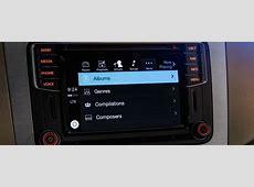 Volkswagen infotainment system