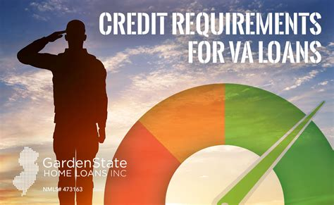garden state loans va loan credit requirements garden state home loans