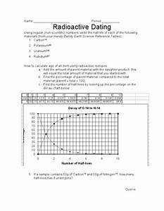 Radioactive Dating Worksheet For 9th