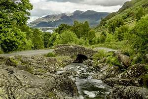 England, Bridge, River, Mountain, Road, Rocks, Trees, Wallpapers, Hd, Desktop, And, Mobile, Backgrounds