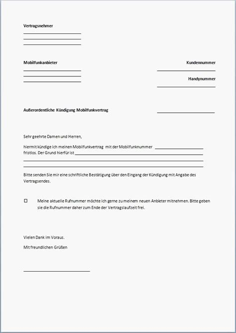 kuendigung arbeitsvertrag muster arbeitgeber