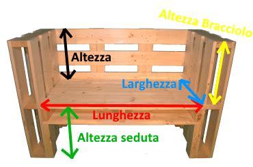 Dimensioni Panchina by Pallet Panchina
