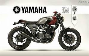 Yamaha Maxim Cafe Racer