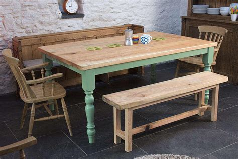 Have The Farmhouse Wooden Kitchen Tables For Your Home