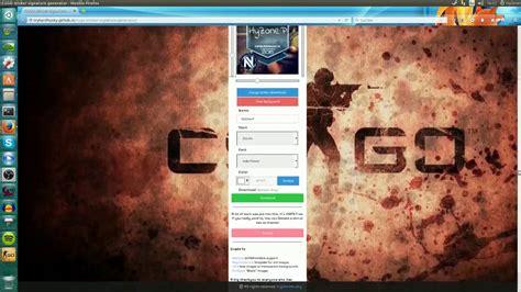 Steam Profilbild Generator by Csgo Profilbild Home Ideen