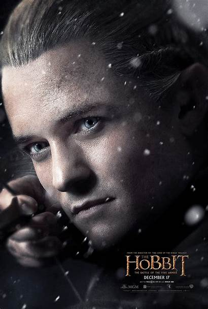 Legolas Poster Hobbit Armies Five Battle Bloom