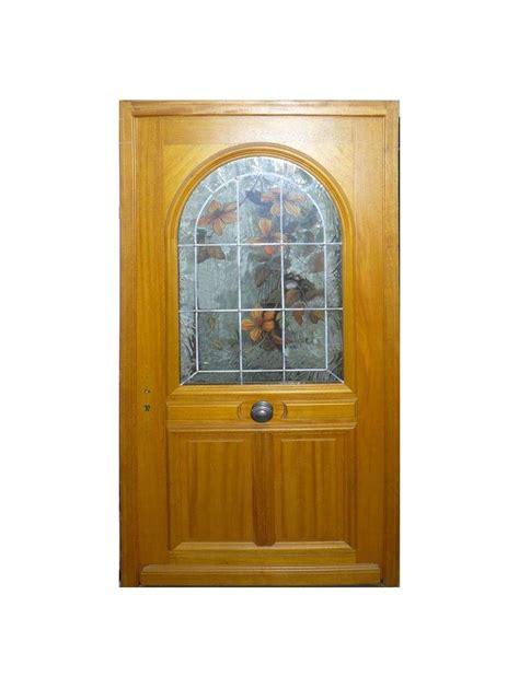 porte dentree bois gervaline hauteur  largeur droite