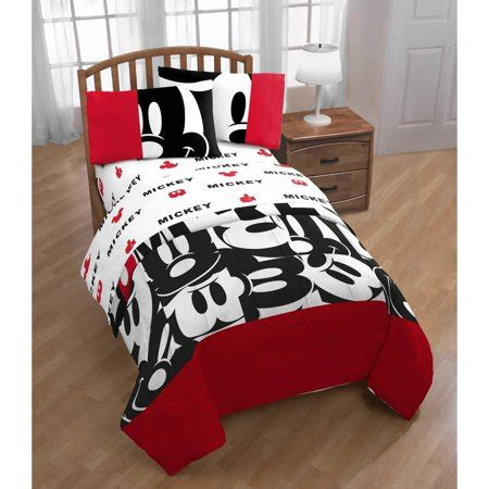 mickey mouse comforter mickey mouse classic comforter and sheet set