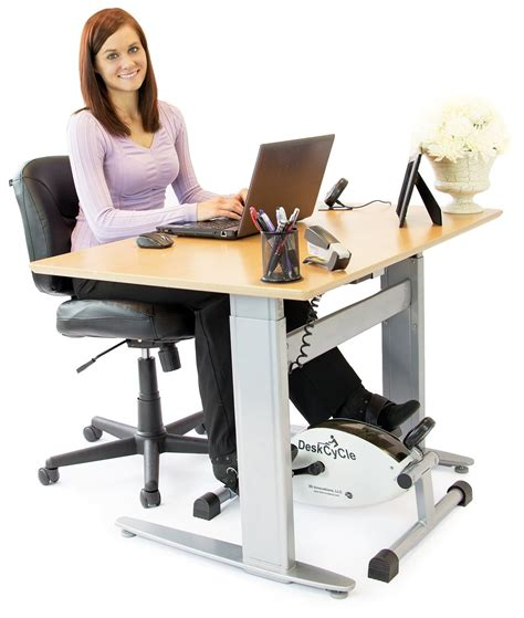 Stationary Pedals Desk by Deskcycle Pedal Exerciser Bike Review Top Stationary Bikes